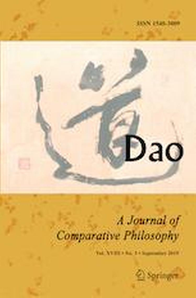 A Journal of Comparative Philosophy